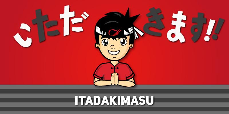 Itadakimasu: una muestra de gratitud.